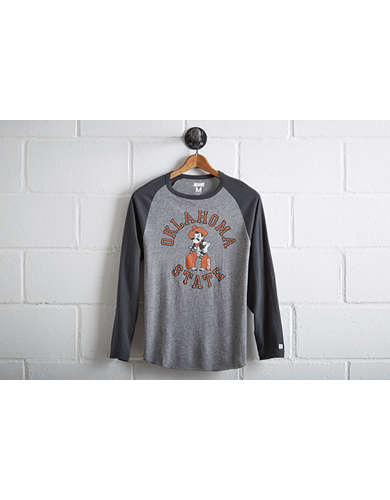 Tailgate Men's Oklahoma State Baseball Shirt - Free Returns