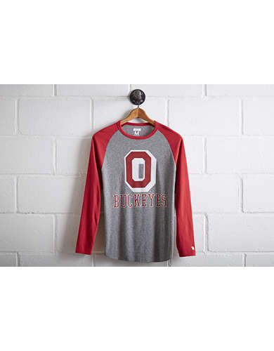 Tailgate Men's Ohio State Baseball Shirt - Free Returns