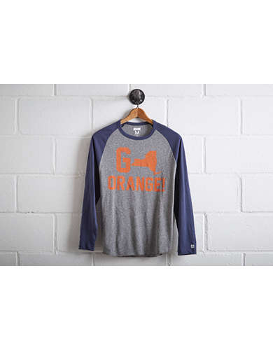 Tailgate Men's Syracuse Orange Baseball Shirt - Free Returns