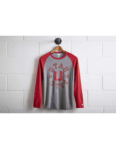 Tailgate Men's Utah Utes Baseball Shirt -