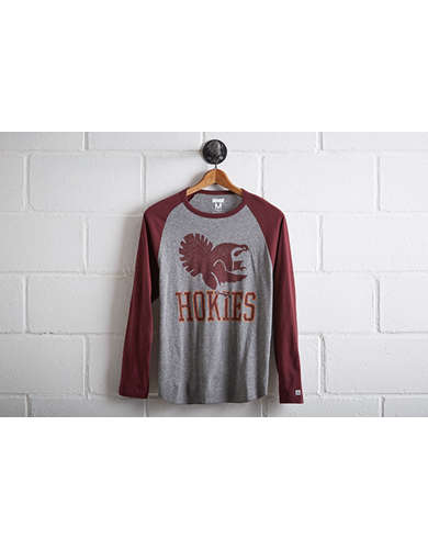 Tailgate Men's Virginia Tech Baseball Shirt - Free Returns