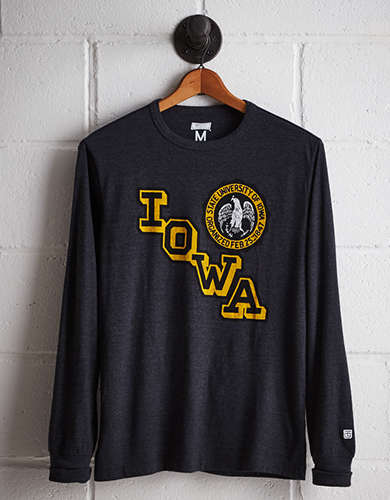 Tailgate Men's Iowa Long Sleeve T-Shirt - Free Returns