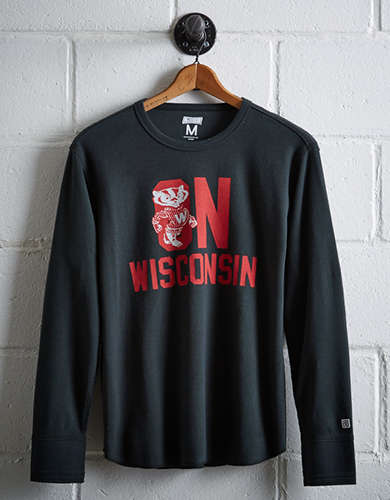 Tailgate Men's Wisconsin Thermal Shirt -
