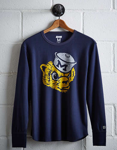 Tailgate Men's Michigan Thermal Shirt -