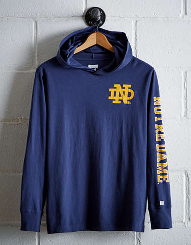Tailgate Men's Notre Dame Hoodie Tee - Free Shipping + Free Returns