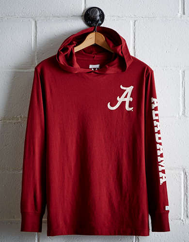 Tailgate Men's Alabama Hoodie Tee - Free Returns