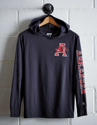 Tailgate Men's Arkansas Hoodie Tee - Free Shipping + Free Returns