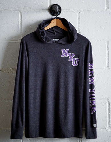 Tailgate Men's NYU Hoodie Tee - Free returns