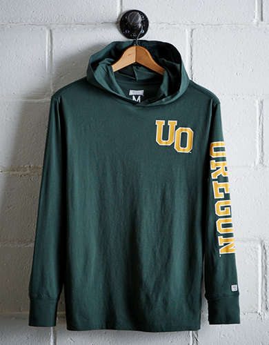 Tailgate Men's Oregon Hoodie Tee - Free Returns