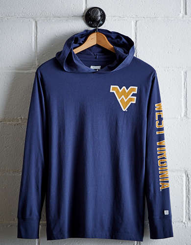 Tailgate Men's WVU Hoodie Tee - Free Shipping + Free Returns