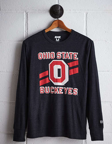 Tailgate Men's OSU Buckeyes Long Sleeve T-Shirt - Free Returns
