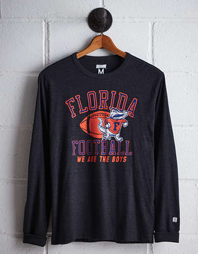 Tailgate Men's Florida Long Sleeve T-Shirt - Free Returns