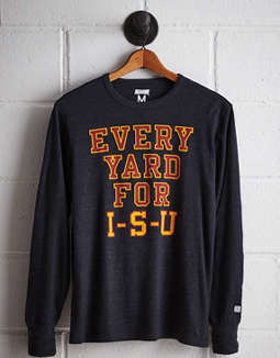 Tailgate Men's Iowa State Long Sleeve T-Shirt
