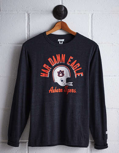 Tailgate Men's Auburn Long Sleeve T-Shirt - Free Returns