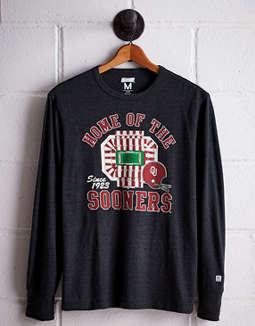 Tailgate Men's Oklahoma Long Sleeve T-Shirt