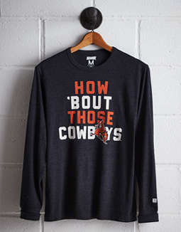 Tailgate Men's Oklahoma State Long Sleeve T-Shirt
