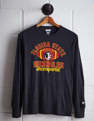 Tailgate Men's Florida State Long Sleeve T-Shirt - Free Returns