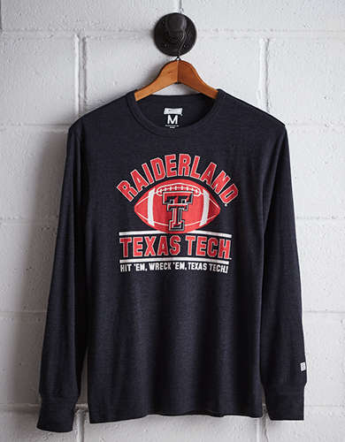 Tailgate Men's Texas Tech Long Sleeve T-Shirt - Free Returns