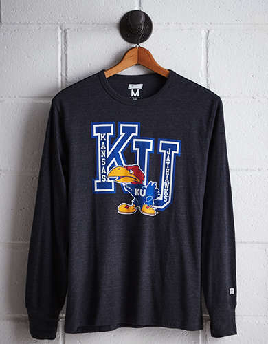 Tailgate Men's Kansas Long Sleeve T-Shirt - Buy One Get One 50% Off