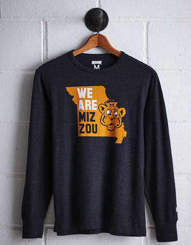 Tailgate Men's Missouri Long Sleeve T-Shirt - Free Returns