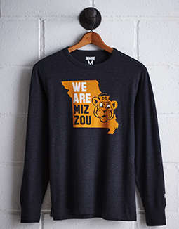 Tailgate Men's Missouri Long Sleeve T-Shirt
