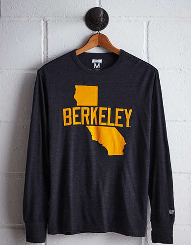 Tailgate Men's California Long Sleeve T-Shirt - Free Returns