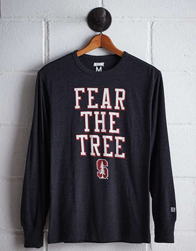 Tailgate Men's Stanford Long Sleeve T-Shirt - Free Returns