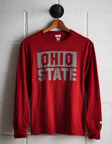 Tailgate Men's Ohio State Long Sleeve T-Shirt - Buy One Get One 50% Off
