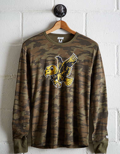 Tailgate Men's Iowa Camo Long Sleeve Tee - Free returns