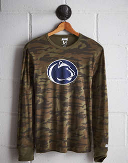 Tailgate Men's Penn State Camo Long Sleeve Tee