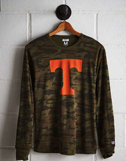 Tailgate Men's Tennessee Camo Long Sleeve Tee