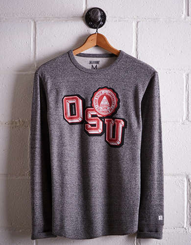Tailgate Men's Ohio State Thermal Shirt - Free Returns