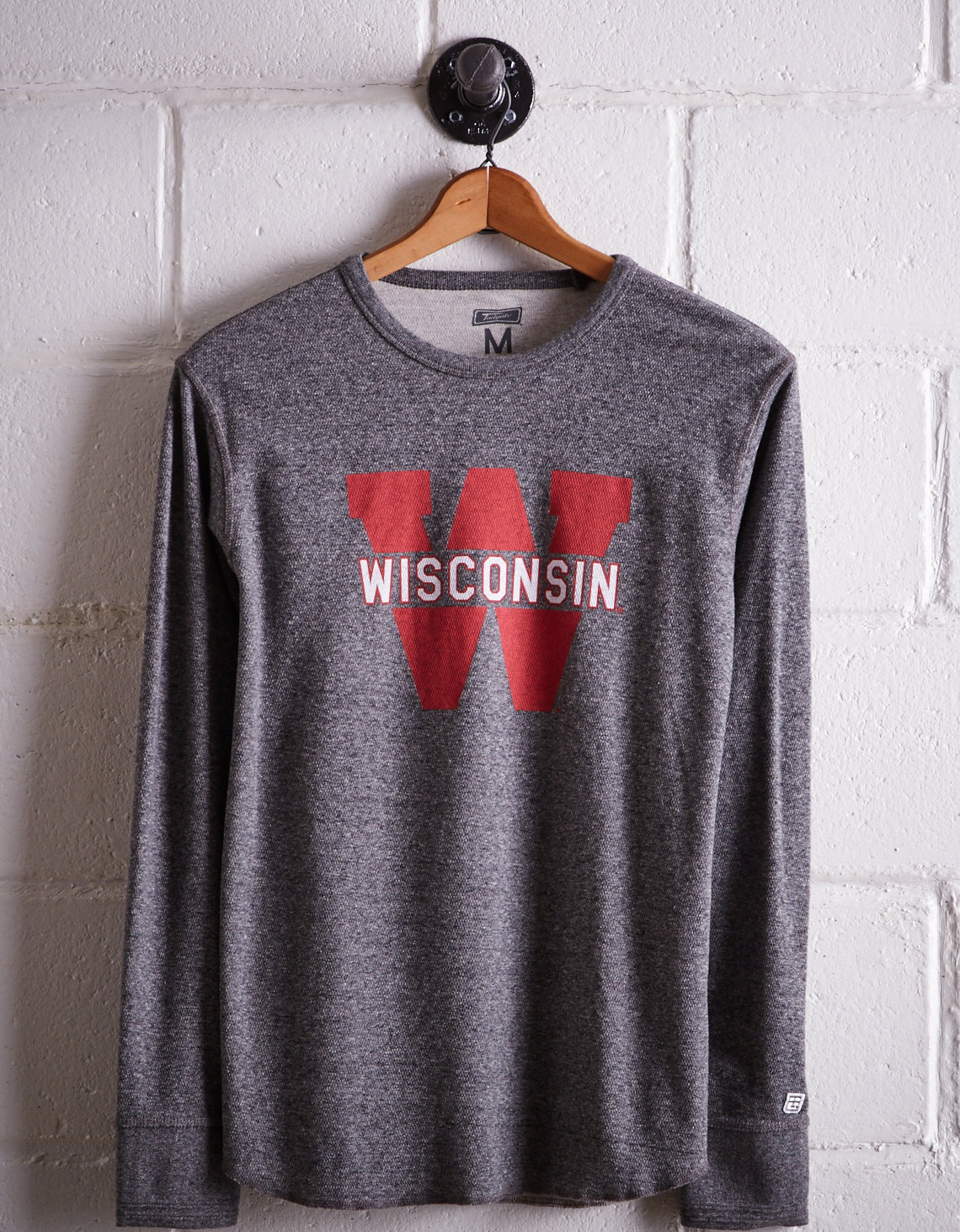 Tailgate Men's Wisconsin Thermal Shirt
