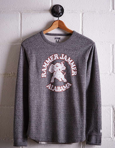 Tailgate Men's Alabama Thermal Shirt - Free returns