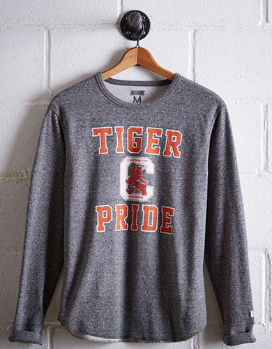 Tailgate Men's Clemson Tigers Thermal Shirt - Buy One Get One 50% Off