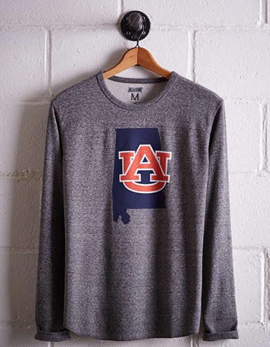 Tailgate Men's Auburn Thermal Shirt - Free Returns