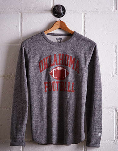 Tailgate Men's Oklahoma Thermal Shirt - Free returns