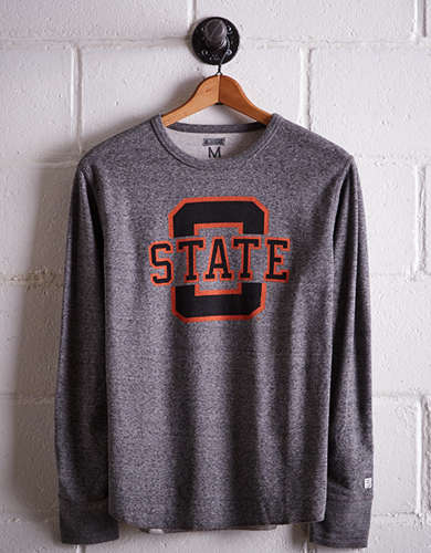 Tailgate Men's Oklahoma State Thermal Shirt - Free Returns