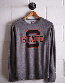 Tailgate Men's Oklahoma State Thermal Shirt
