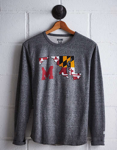 Tailgate Men's Maryland Thermal Shirt - Buy One Get One 50% Off