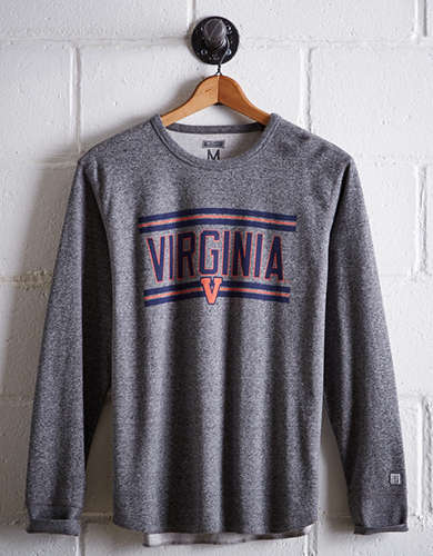 Tailgate Men's UVA Thermal Shirt - Free Returns