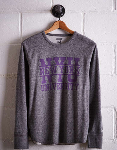 Tailgate Men's NYU Thermal Shirt - Free returns