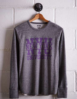 Tailgate Men's NYU Thermal Shirt