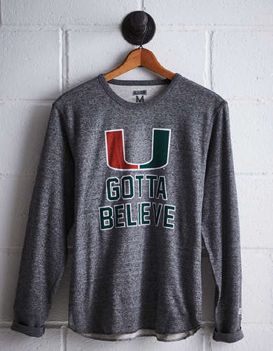 Tailgate Men's Miami Thermal Shirt - Free Returns