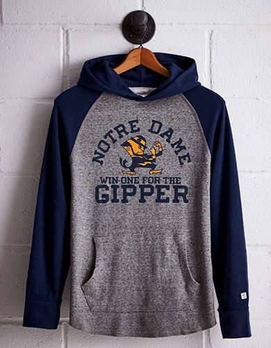 Tailgate Men's Notre Dame Thermal Hoodie - Free Returns