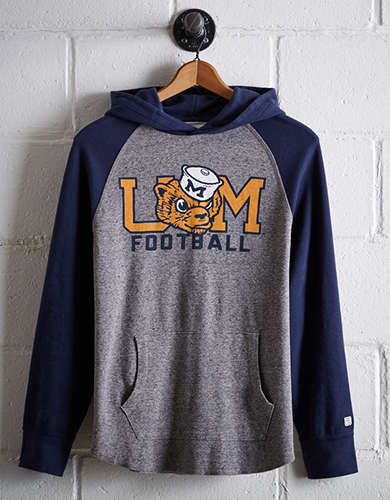 Tailgate Men's Michigan Thermal Hoodie - Free Returns