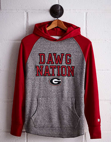 Tailgate Men's Georgia Thermal Hoodie - Buy One Get One 50% Off