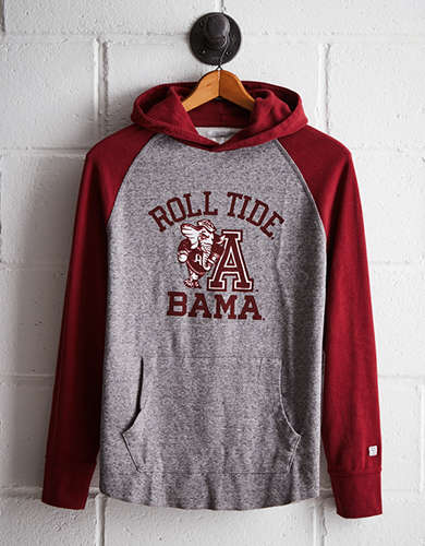 Tailgate Men's Alabama Thermal Hoodie - Free returns