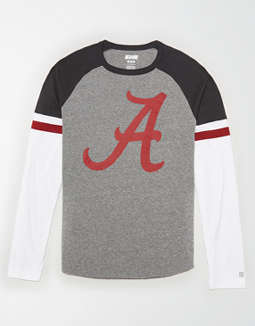 Tailgate Men's Alabama Crimson Tide Baseball Shirt