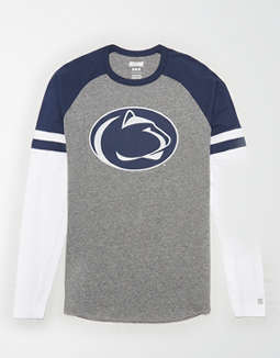 Tailgate Men's PSU Nittany Lions Baseball Shirt